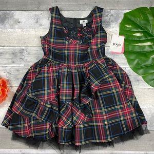 Harajuku mini Target Tartan plaid dress tutu